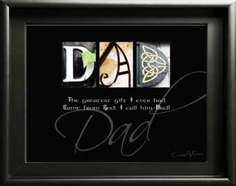 Letter Art Father Papa Dad Inspirational Quote Birthday Christmas Thanksgiving Children Digial Download DIY Gift