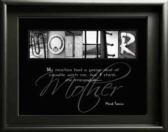 Mother Mum Mom Letter Art Inspirational Quote Mother's Day Birthday Christmas Digial Download DIY Gift