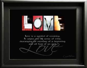 Inspirational Letter Art, Love, ILOVEU, Welcome, Home, Friend Smile, Dream