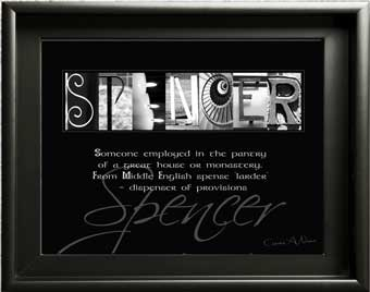Spencer Ancestry english surname origin name meaning Letter Art What does Thompson robinson Reynolds mean? Gift