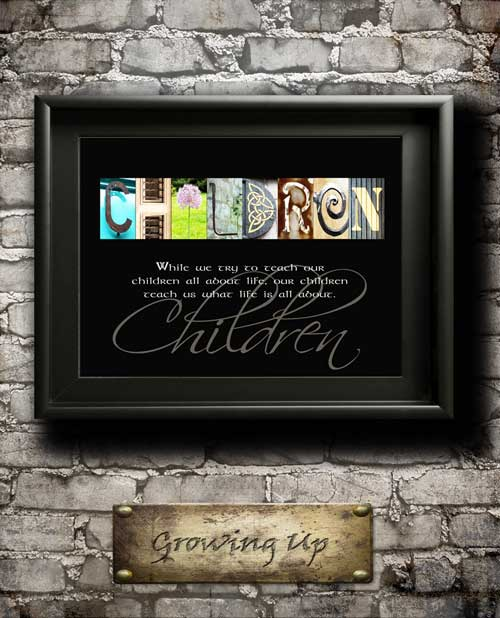 Children Quotes Son Daughter Family Home Decor Alphabet Art Inspirational Christmas Thanksgiving Digial Download DIY Gift